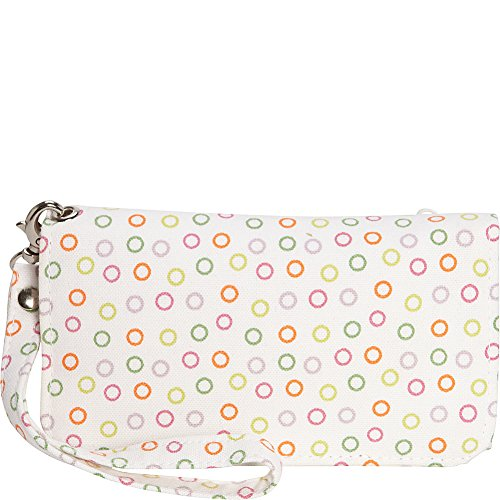 donna-sharp-cell-phone-wristlet-posy-white-dot