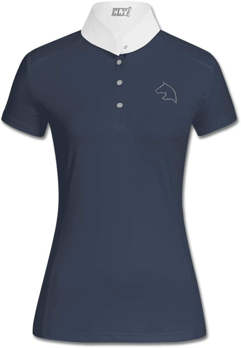 ELT Damen Turniershirt Cindy Nachtblau