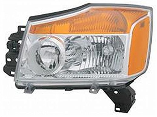 OE Replacement Headlight Assembly NISSAN TITAN PICKUP 2008-2014 Multiple Manufacturers NI2502168C Partslink NI2502168
