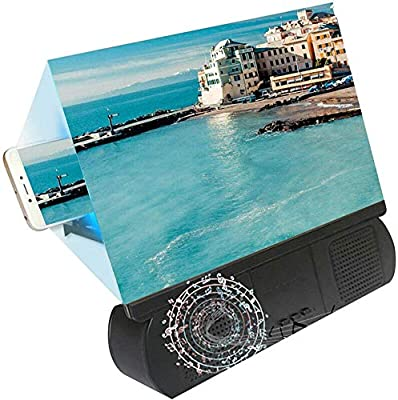 Ganquer Teléfono Pantalla Amplificador Portátil HD Proyección ...