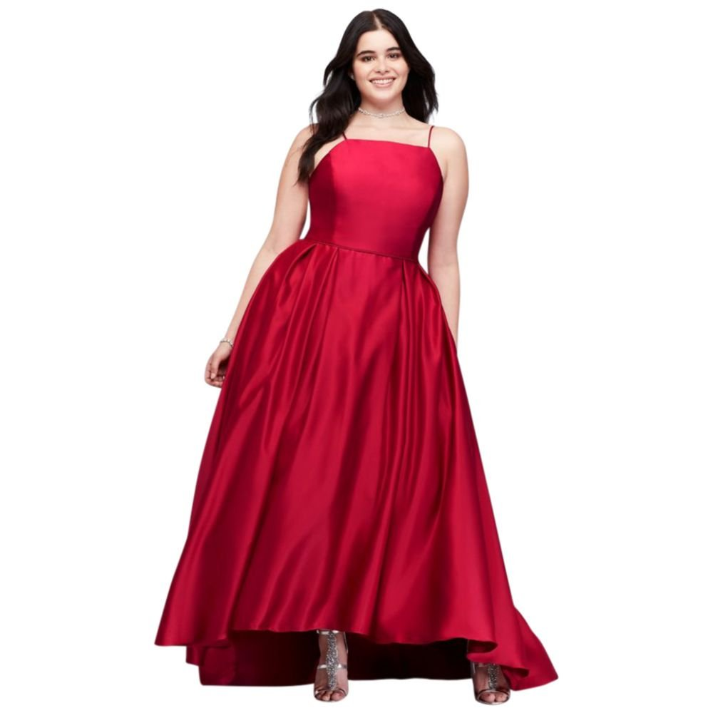 79f0aeb0bd4 Davids Bridal Plus Size Prom Dresses