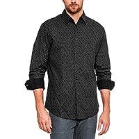 Men's Classic Fit Long-Sleeve Shirt/Mens Essentials Casual Shirts