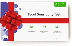 Everlywell Food Sensitivity Test - at Home - CLIA-Certified Adult Test - Personalized, Accurate Blood Analysis for 96 Foods - Not Available in NY, NJ, RI
