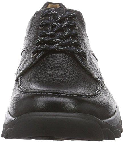 Ganter HENRY, Weite H - zapatos con cordones de cuero hombre negro - Schwarz (schwarz 0100)