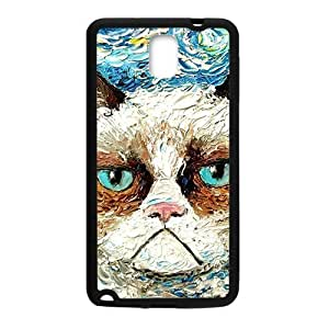 SVF Aggrieved White cat Cell Phone Case for Samsung Galaxy Note3