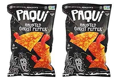 Paqui Tortilla Chips, Haunted Ghost Pepper, 5.5 Ounce