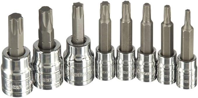 """Kobalt 22355SET 5 Piece 1//4/"""" Drive Torx Bits T15 to T30 USA"""