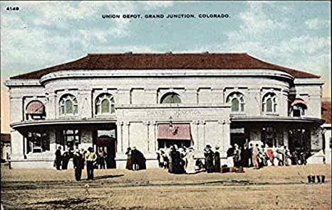 Amazon Com Union Depot Grand Junction Colorado Original Vintage