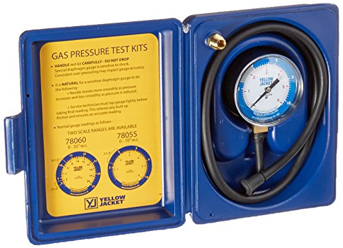Yellow Jacket 78055 Complete Test Kit, 0-10