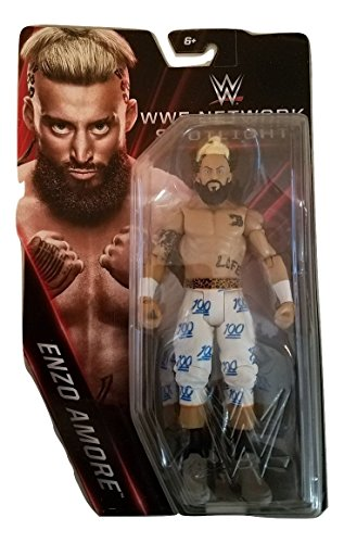 WWE Basic Series WWE Network Spotlight Enzo Amore Exclusive Action Figure 6.75 Inches by WWE