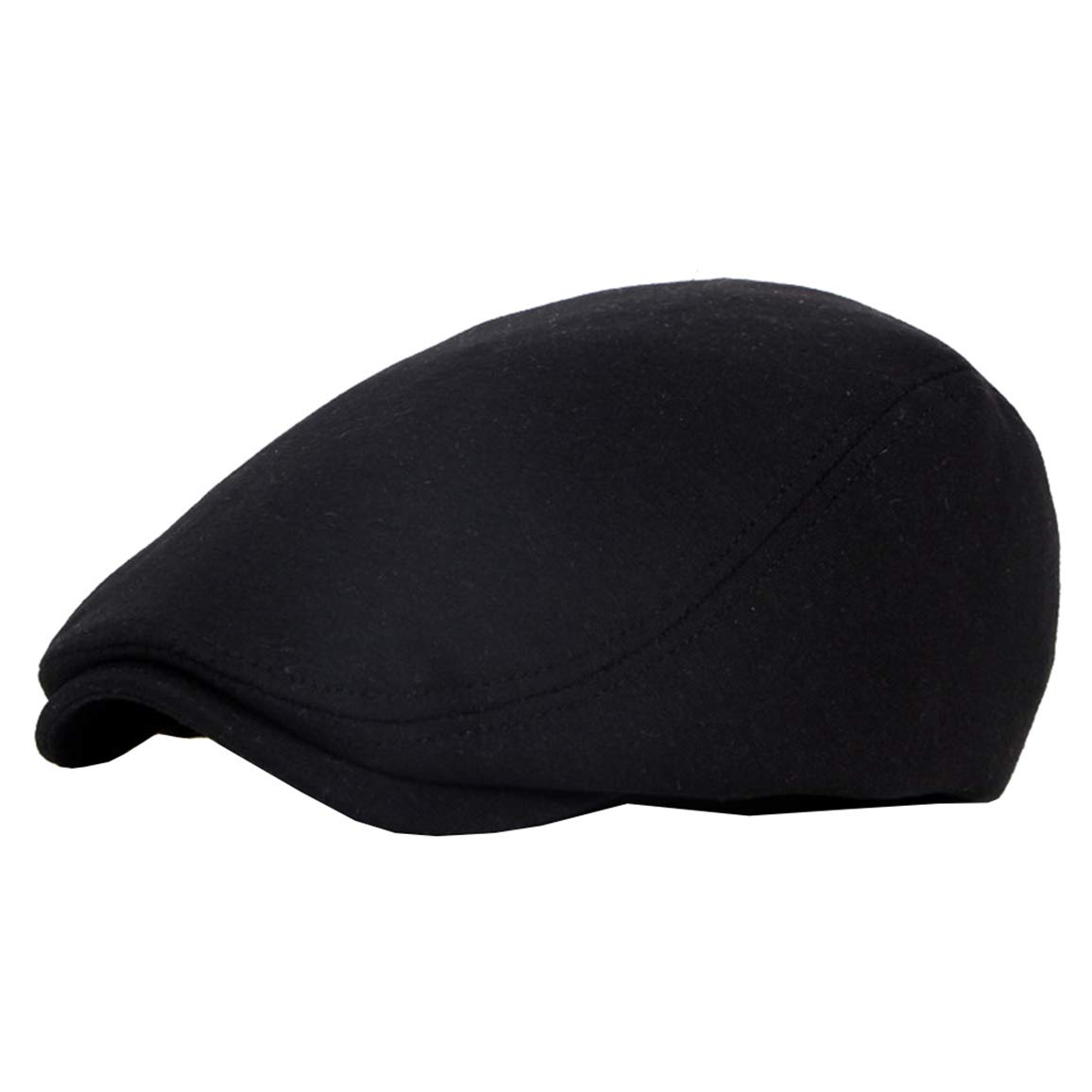 Beret-Hat-for-Men-French Newsboy-Flat-Gatsby-Cap Cotton-Adjustable Black -  Ivy Irish Hats Cabbie Driving at Amazon Men s Clothing store  f362037e8dc3