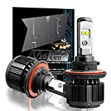 Cougar Motor H13 (9008 High/Low) LED Headlight Bulbs All-in-One Conversion Kit,7200 Lumen (6000K Cool White)