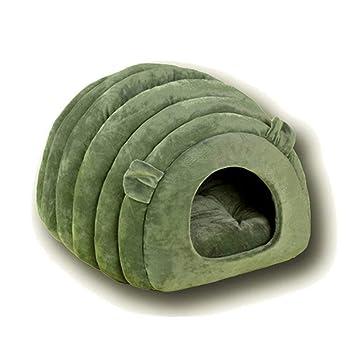 Uiophjkl Seguro y cómodo Cama de Gato para Mascotas Casa de Gatos Casa de Gato Semi