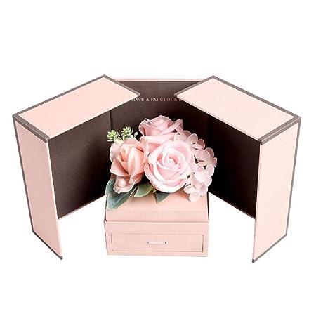 Acrodi - Jabón de Flores con cajón, Caja de Regalo para ...