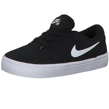 13d2d1e8ae Nike 905372-003: SB Check Canvas Black White Toddler Sneakers (5 M US