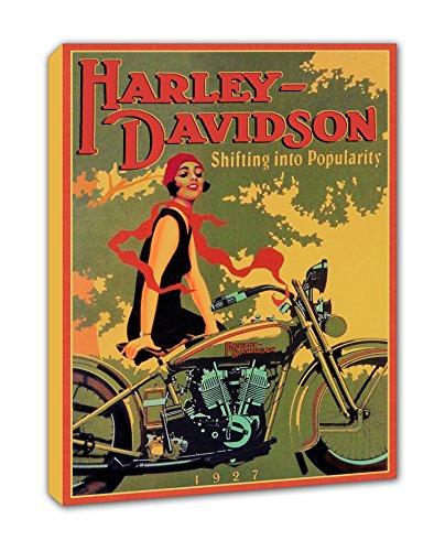 BaikalGallery Lienzo Cartel Harley Davidson 1927 Shifting ...
