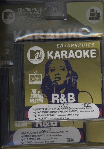 The Singing Machine-mtv Karaoke R& B Vol 7 & 8