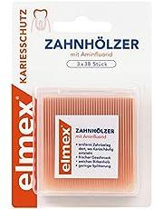 elmex Zapałki z aminfluridem, 2 sztuki w opakowaniu (2 x 114 sztuk)