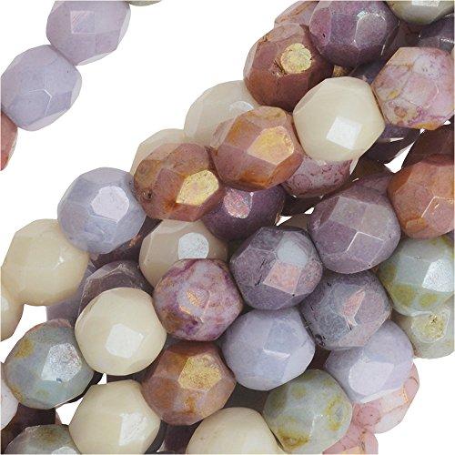 Opaque Glass Beads - 8
