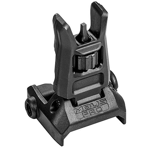 Magpul Industries MBUS Pro, Back-Up Sight, Front, Black