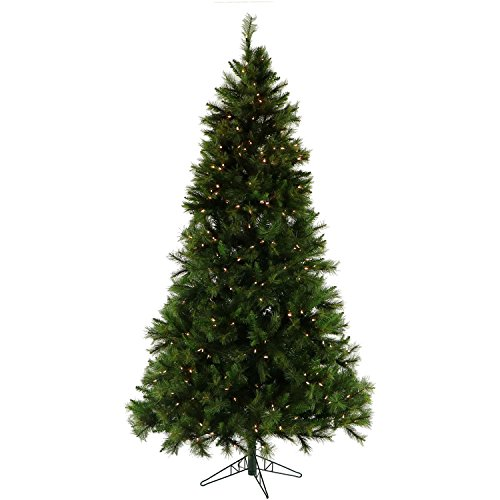 9 Ft. Canyon Pine Christmas Tree with Clear LED Lighting
