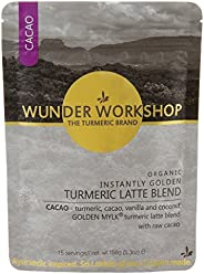Organic Golden Turmeric Latte (Turmeric x Cacao)