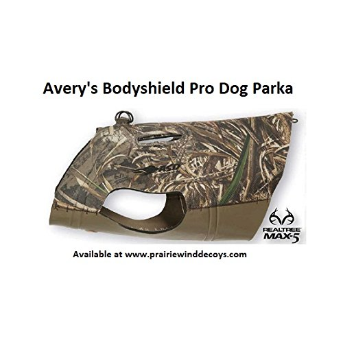 Avery Body Shield Pro Dog Parka, Color: MAX5, Size: XL (03263) by Avery