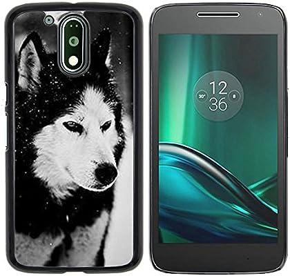 Graphic4You Lobo Animal Diseño Carcasa Funda Rigida para ...