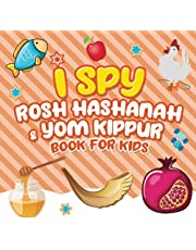 I Spy Rosh Hashanah & Yom Kippur Book for Kids: A Fun Guessing Game Book for Little Kids Ages 2-5 and all ages - A Great Tishrei Rosh Hashanah Yom Kippur gift for Kids and Toddlers