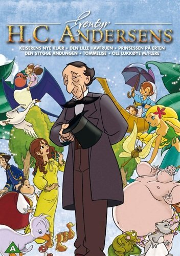 H C  Andersens Fairy Tales  Vol  1    6 Dvd Box Set   Emperors New Clothes   The Travelling Companion   The Little Mermaid   Snow Man   The Jumpers   P   Non Usa Format  Pal  Reg 2 Import   Norway