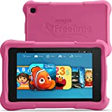 "Fire HD 7 Kids Edition Tablet, 7"" HD Display, Wi-Fi, 8 GB, Pink Kid-Proof Case"