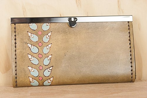 Petal Clutch Wallet (Large Clutch Vine Wallet)