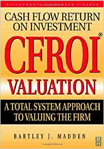 cfroi valuation bartley j madden pdf