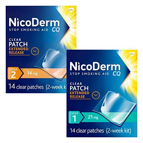NicoDerm CQ Stop Smoking Aid 7 Milligram Clear