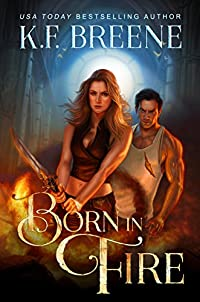 Born In Fire by K.F. Breene ebook deal