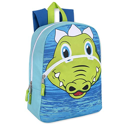 Animal Friends Critter and Creature Preschool, Kindergarten Backpacks for Boys and Girls With Reinforced Adjustable Straps (Alg) ()