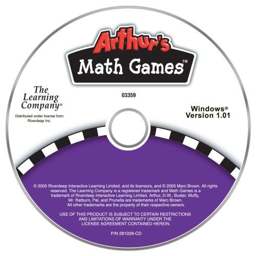 PC Treasures Arthur's Math Games (Games Math Pc)