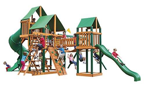 Gorillaplay Backyard Playground Treasure Timber