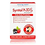 Arthur Andrew Medical - Syntol Kids, Daily Probiotic Supplement for Digestive Health and Young Immune Systems, No Sugar or Artificial Sweeteners, Berry Flavor, Vegan, Gluten Free, 30 Sachets