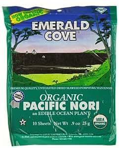 Emerald Cove Organic Nori Sheets -- 0.9 oz