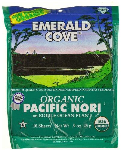 Emerald Cove, Nori Pacific Organic, 0.9 Ounce