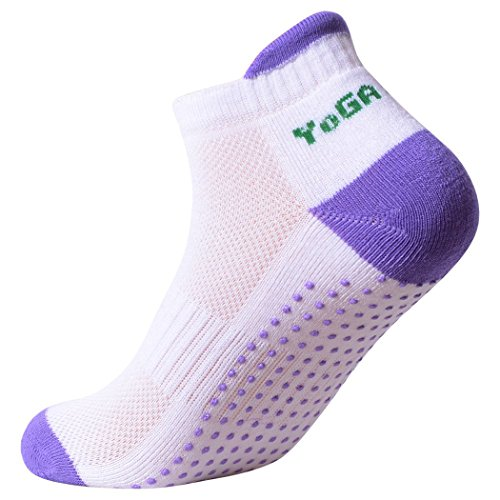 Lucky-Commerce-Womens-Non-Slip-Skid-Yoga-Socks-for-with-Grip-Exercise-Training-4-Pairs