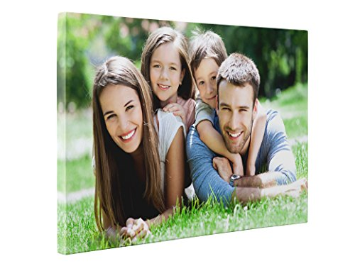 Niwo Art – On Demand Photo to Canvas – Turn Your Image into Personalized Premium Canvas Art Print – Customized Canvas Picture Stretched on Wooden Frame as Gallery Artwork 16×24, 0.75 Thickness
