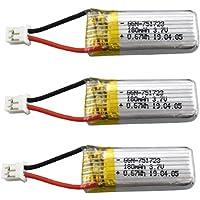 Ploufer3.7V 180mAh Batería de Litio para A20 A20W