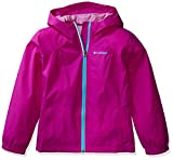 Columbia Girls' Toddler Switchback Rain Jacket, Bright Plum, 3T