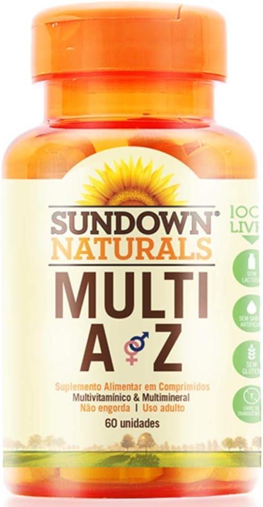 Multi A-Z Multivitamínico - 60 comprimidos, Sundown Naturals, Sundown Naturals por Sundown Naturals
