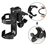 Stroller Cup Holder Bike Cup Holder by Accmor - Universal 360 Degrees Rotation Cup Drink Holder for Baby Stroller - Bike - Pushchair - Wheelchair - Motorcycle