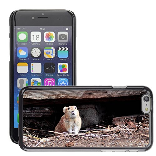 "Bild Hart Handy Schwarz Schutz Case Cover Schale Etui // M00135164 Nager Feldmaus Tier Säugetier // Apple iPhone 6 PLUS 5.5"""