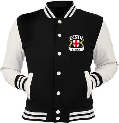 Speed Shirt Giacca College Nera TSTEM0170 Genoa Italy