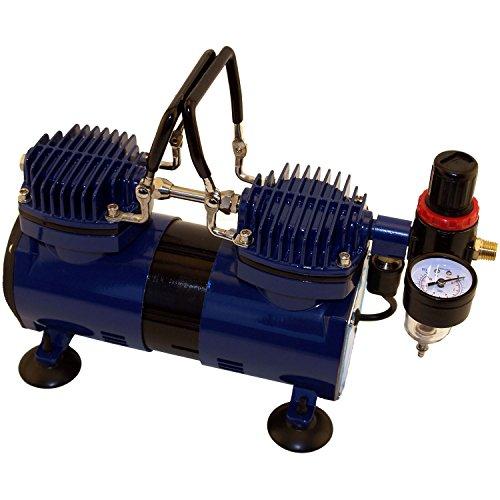 - Paasche DA400R 1/4 HP Compressor with Regulator and Moisture Trap